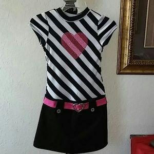 Pink & Violet girls dress